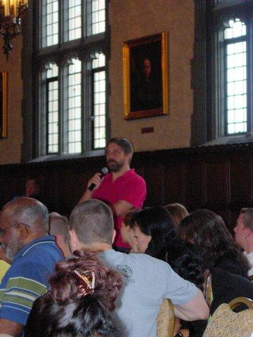 Brian Volck asks a question