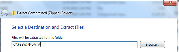 Extract from Zip file