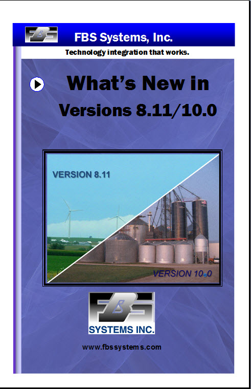 What's New in Version 8.11 and 10.0