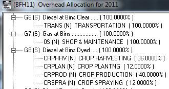 Fuel allocations