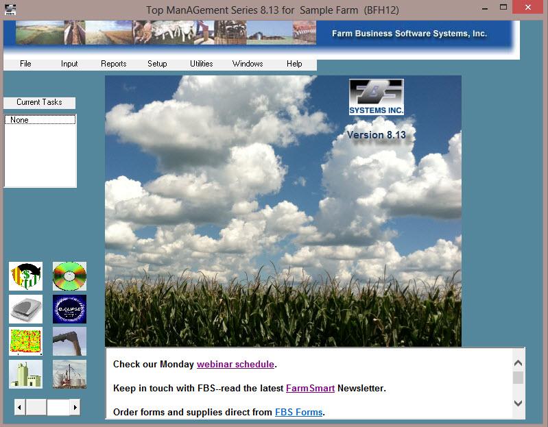 FBS 8.13 Home Screen