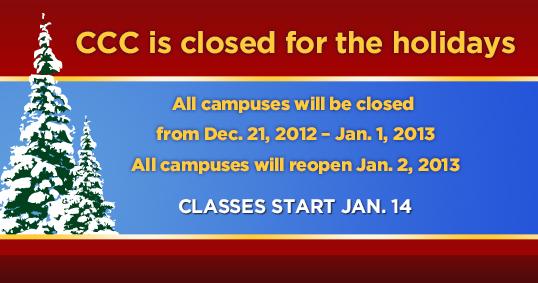 CCC closed