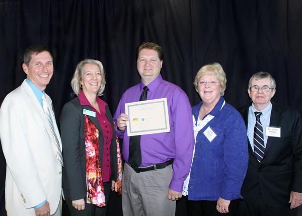 Patrick Harrison CCC2NAU recipient