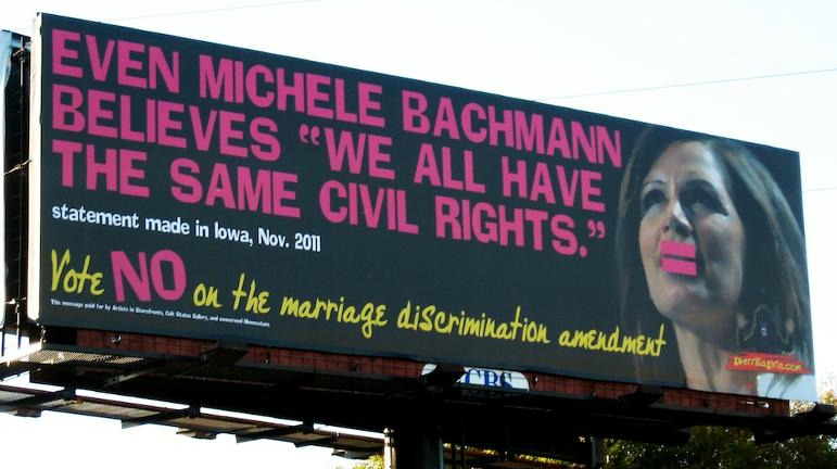 Even Michele Bachmann believes we all have the same civil rights