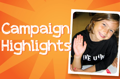 Campaign Highlights