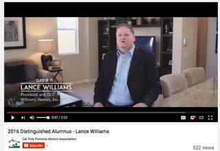 Lance Williams You Tube