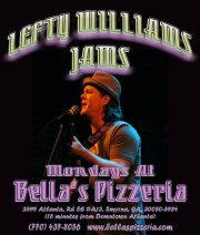 Lefty Williams Jams Poster 2011