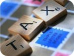 Tax Scrabble Tiles