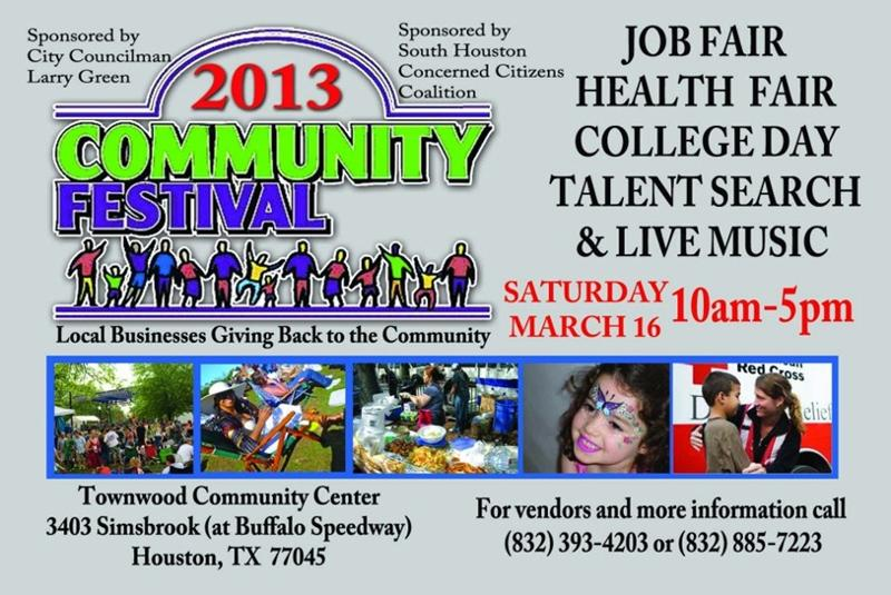 2013 Community Festival