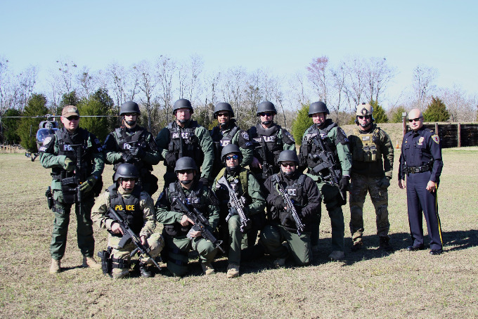 swat training jan 22 2013