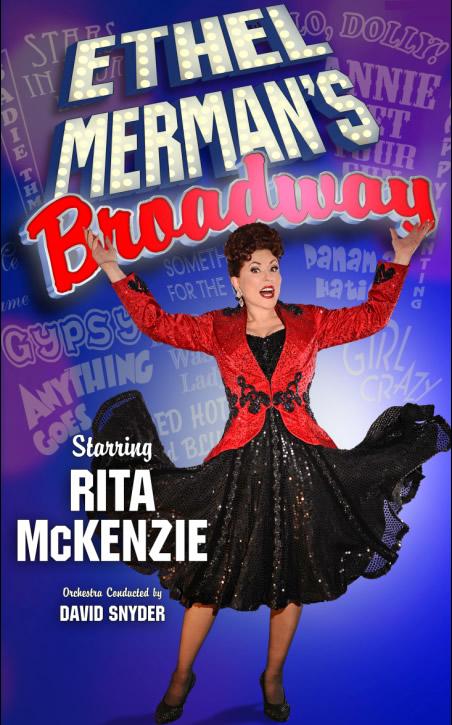 Rita McKenzie stars as Ethel Merman