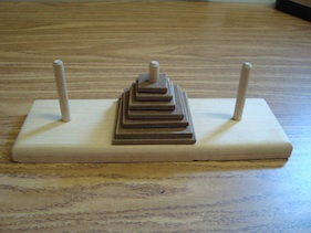 The Tower of Hanoi puzzle