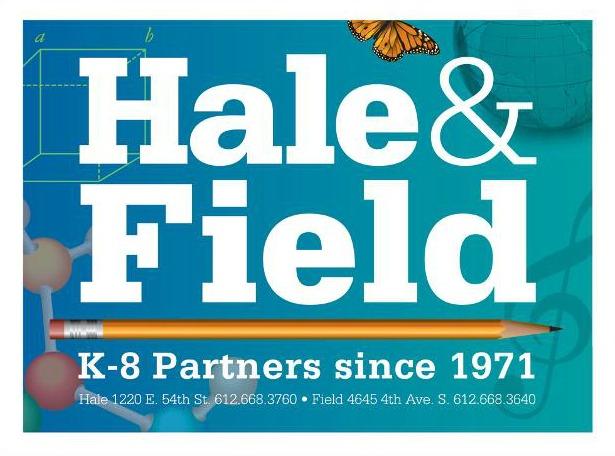 HaleField Lawn Sign