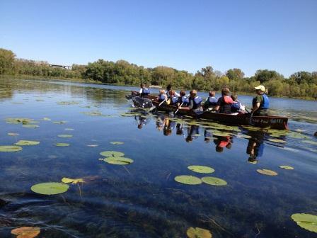 Fort Snelling Canoe