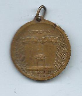 French Verdun Medal -B