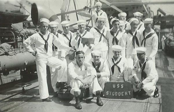 USS Stoddert after Saturday AM inspection.