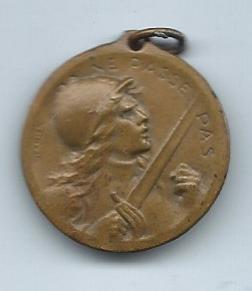 French Verdun Medal-F
