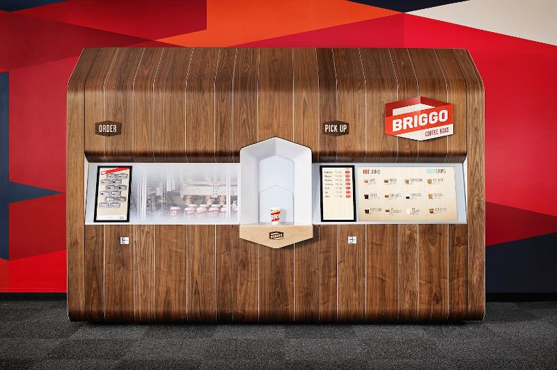 Coffee Haus, a new coffee ordering experience for Briggo, designed by Yves Béhar.