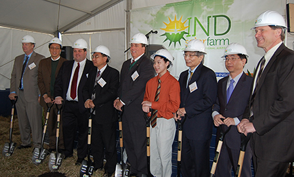 Solar Farm Groundbreaking
