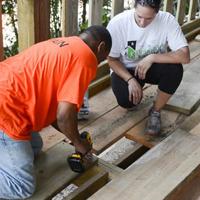 Rebuildingthe deck