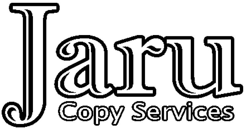 Jaru Copy Services Logo