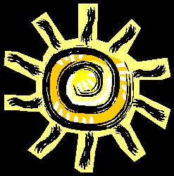 Sun with Rays
