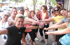Ladies of the Diva Run Club!