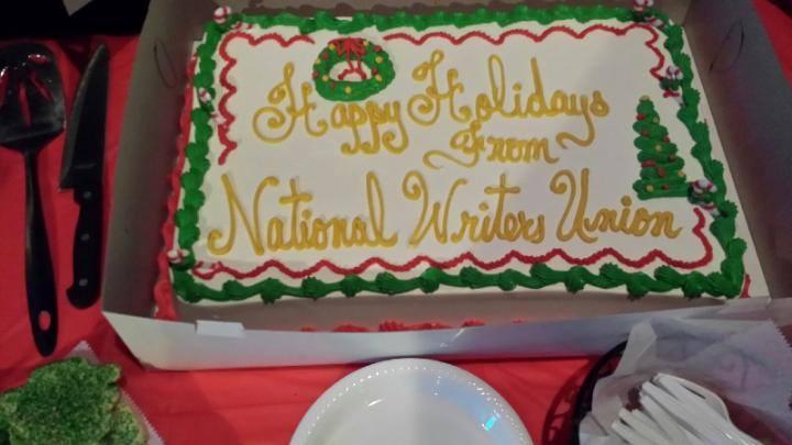 SEM Holiday Cake