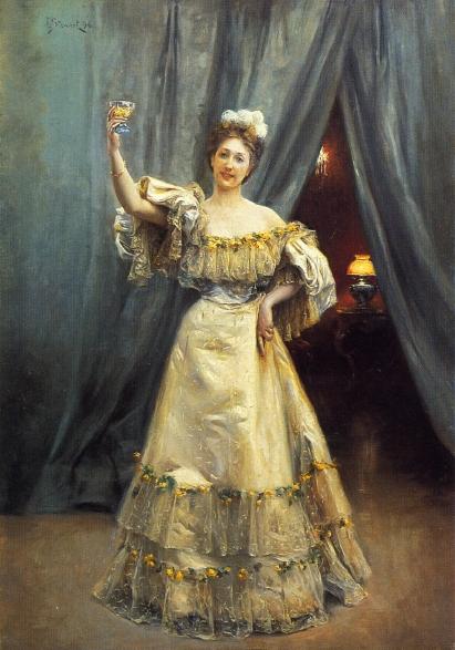 A toast by Julius Le Blanc Stewart