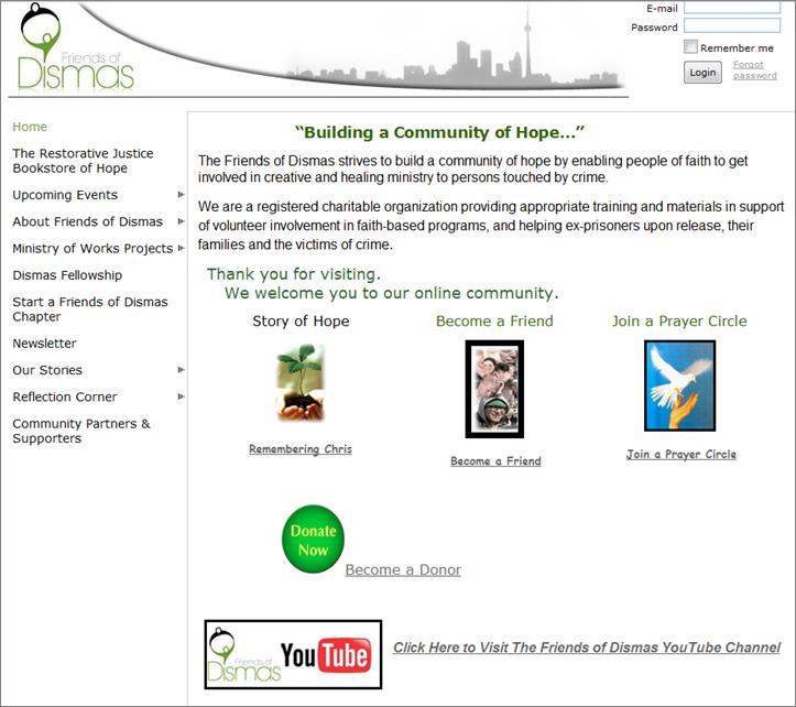 Friends Website 2010