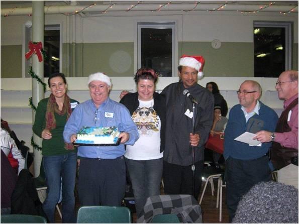Christmas 2011 Cake