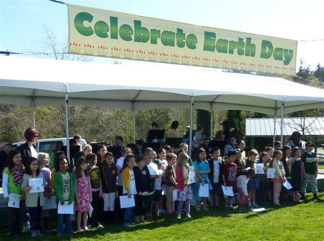 Newcastle kids celebrate Earth Day