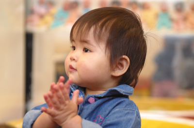 Baby clapping gif