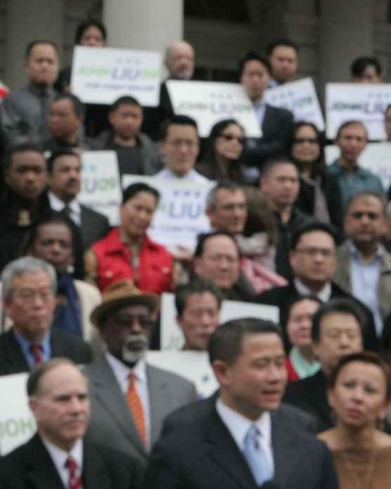 Liu press event