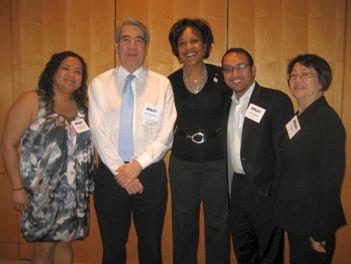 Board Members w/ Holt-Baker