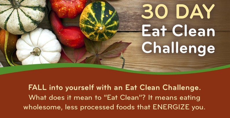 logo for eat clean challenge