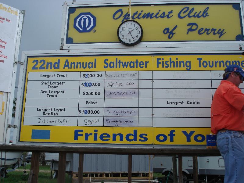 Optimist Club Tournament