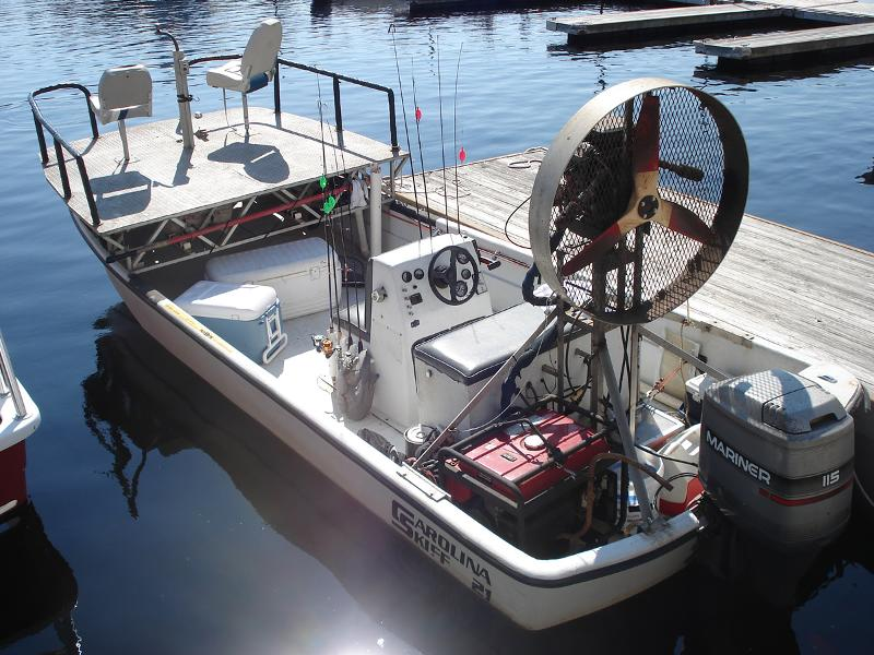 Another great week for action for Bow fishing boats