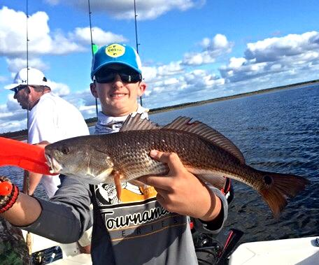 Will Forrester caught this nice redfish over Thanksgiving break_