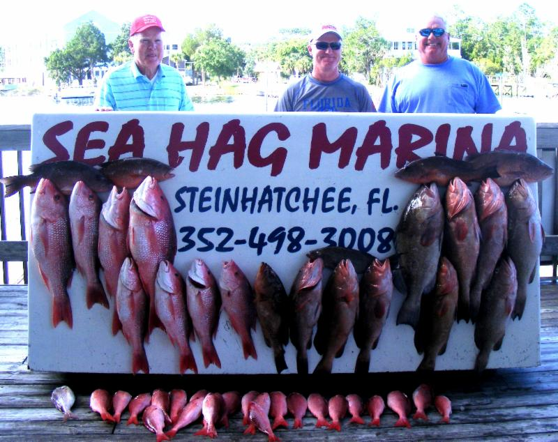 Frank and frank sheffield and dean baker from starke fl for Steinhatchee fl fishing