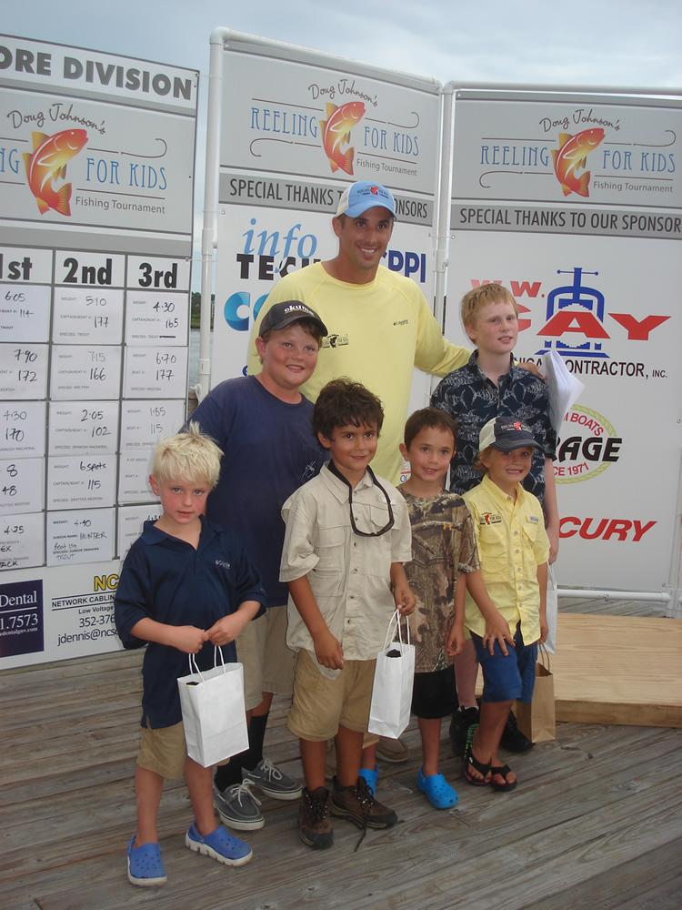 Doug Johnson and youth winners