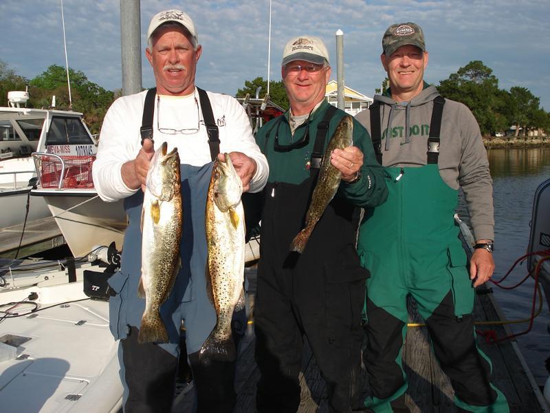 Mike, Tim and Bud