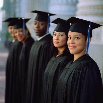 4 grads flipped