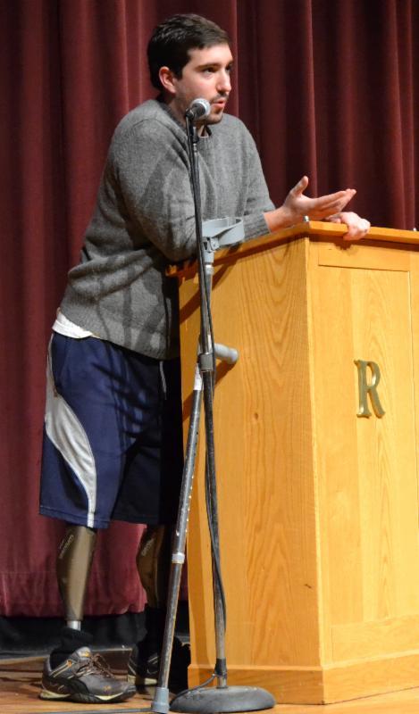 Jeff Bauman, Marathon bombing survivor