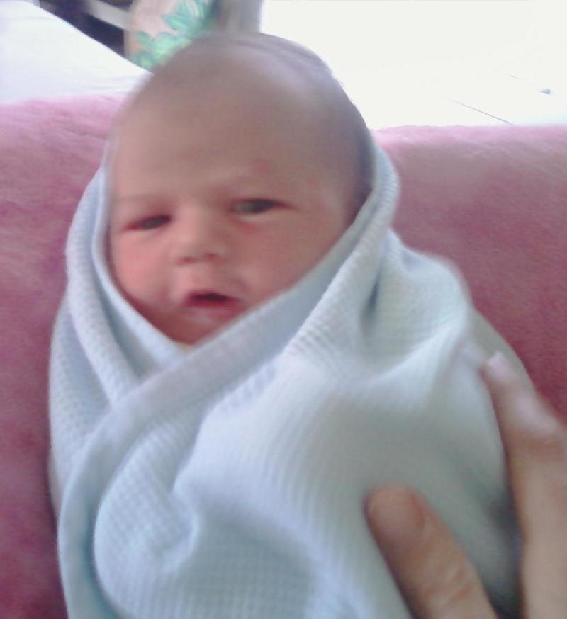 laura olson's new baby