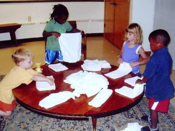 folding laundry 1