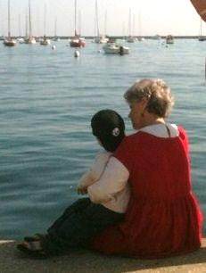 Cynthia by the lake