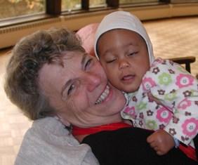 Cynthia and Child