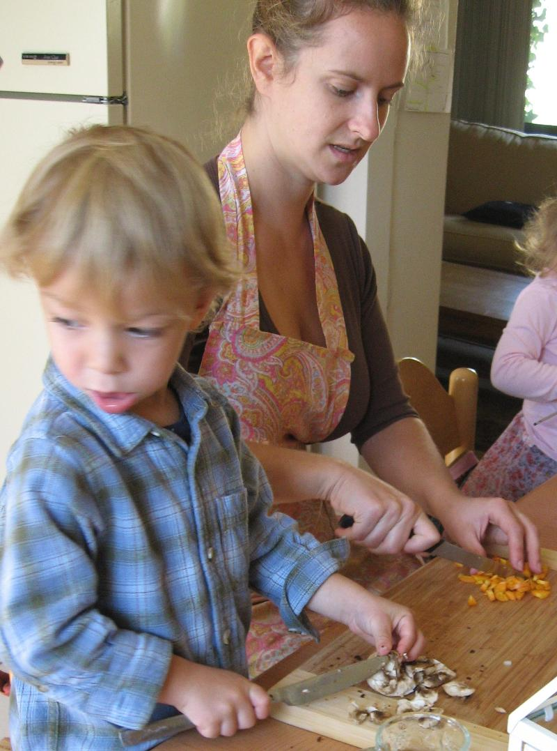 chopping veggies cropped