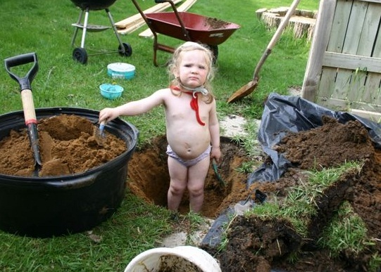 allegra in the soil
